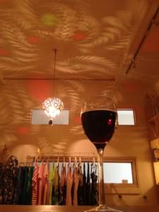 SHOPとワイン